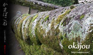 岡城のかまぼこ石