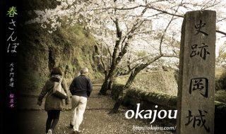 岡城桜並木の春散歩