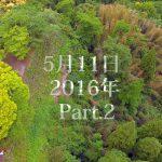 岡城 熊本地震後のドローン空撮 5月11日2016年 Part.2