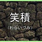 熊本地震発生後の岡城の石垣の資料用記録映像