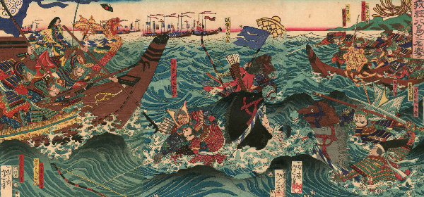 屋島の戦い、奇襲、扇の的、弓流れ、源義経エピソード