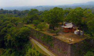 2016年6月の岡城 ドローン空撮 Aerial in drone the Oka castle June 2016