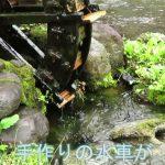 名水百選竹田湧水群の泉水湧水(せんすいゆうすい) 所在地:竹田市大字入田泉水 非常に透明度の高い湧水群は毎日、数日分の水を汲みに来る人たちで賑わっている、泉水湧水はポリタンクに汲みやすい深底の貯水場があるので、20リットルのタンクを沢山持ってくる人に人気がある。 手作りの水車がマスコット的に愛されている。 湧水量は1日4,340m3