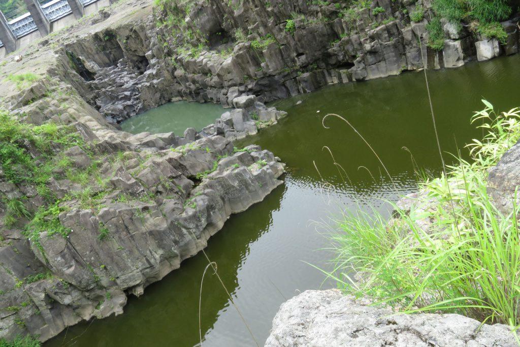 魚住ノ滝跡