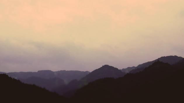 大分県竹田市九重野相ヶ瀬大橋(あいがせおおはし)からの風景2