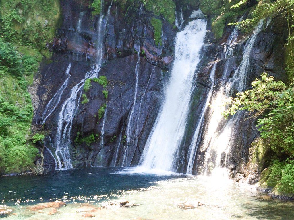 大野川源流白水の滝の写真