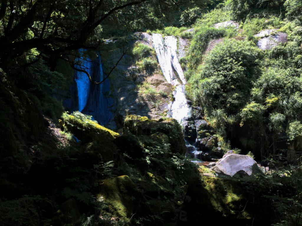 白水の滝下の「母滝」