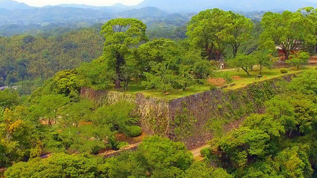 """2016年6月の岡城 ドローン空撮 """"Long version"""" Aerial in drone the Oka castle June 2016"""