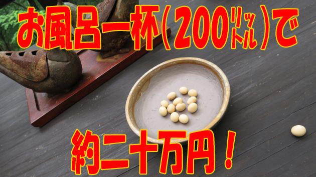 岡大豆の値段。