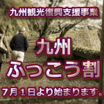 「九州ふっこう割」で、大分県の竹田市にある天空の城「岡城」へおいでください。