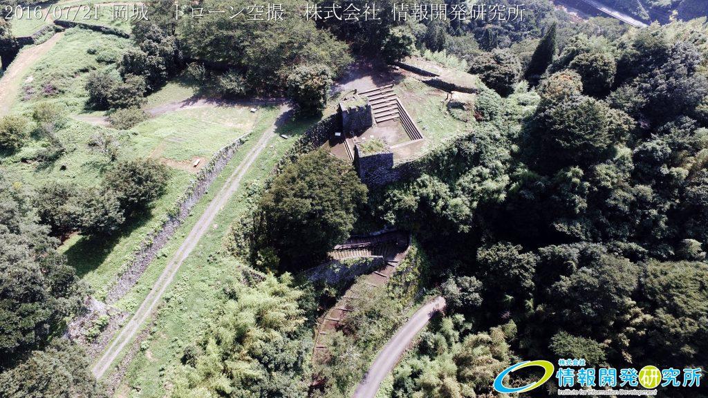 天空の豊後竹田「岡城」ドローン空撮4K写真 20160721 vol.3Aerial in drone the Oka castle/Okajou 4K Photo