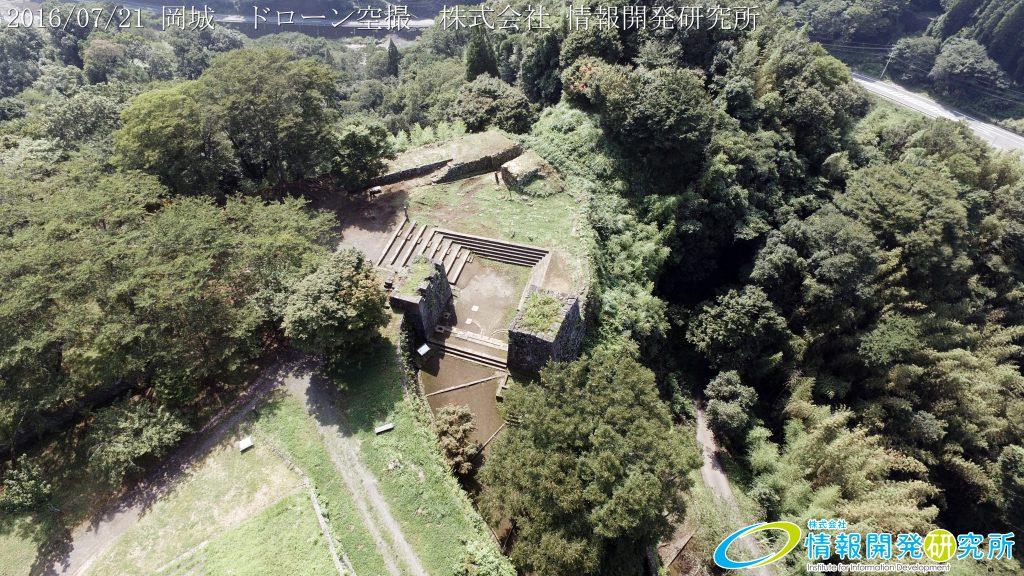 天空の豊後竹田「岡城」ドローン空撮4K写真 20160721 vol.5Aerial in drone the Oka castle/Okajou 4K Photo