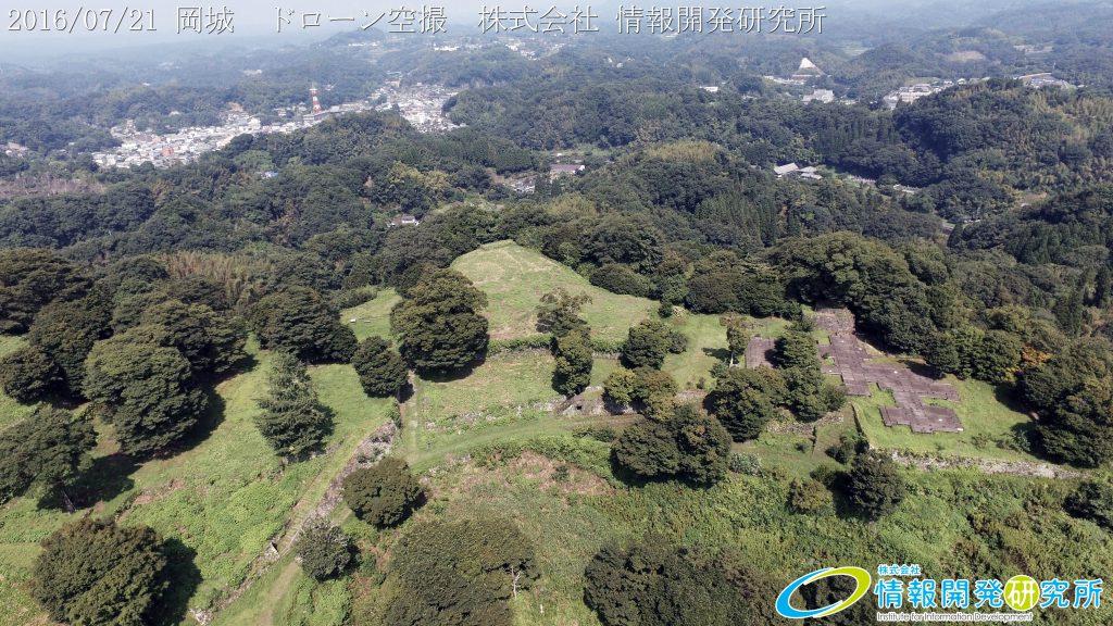 天空の豊後竹田「岡城」ドローン空撮4K写真 20160721 vol.7Aerial in drone the Oka castle/Okajou 4K Photo