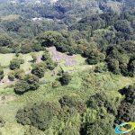天空の豊後竹田「岡城」ドローン空撮4K写真 20160721 vol.8Aerial in drone the Oka castle/Okajou 4K Photo