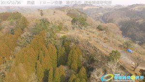 天空の豊後竹田「岡城」ドローン空撮4K写真 20160226 vol.4Aerial in drone the Oka castle/Okajou 4K Photography
