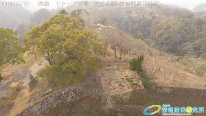 天空の豊後竹田「岡城」ドローン空撮4K写真 20160226 vol.3Aerial in drone the Oka castle/Okajou 4K Photography