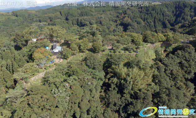 天空の豊後竹田「岡城」ドローン空撮4K写真 20160704 vol.2  Aerial in drone the Oka castle