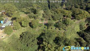 天空の豊後竹田「岡城」ドローン空撮4K写真 20160704 vol.5 Aerial in drone the Oka castle