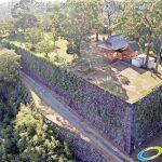 天空の豊後竹田「岡城」ドローン空撮4K写真 20160715 vol.4 Aerial in drone the Oka castle/Okajou 4K Photo