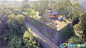 天空の豊後竹田「岡城」ドローン空撮4K写真 20160714 vol.4 Aerial in drone the Oka castle/Okajou 4K Photo