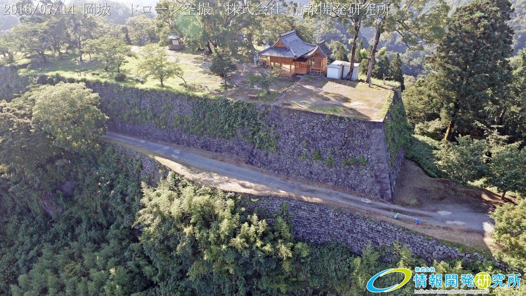 天空の豊後竹田「岡城」ドローン空撮4K写真 20160715 vol.2Aerial in drone the Oka castle/Okajou 4K Photo