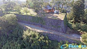 天空の豊後竹田「岡城」ドローン空撮4K写真 20160714 vol.2Aerial in drone the Oka castle/Okajou 4K Photo