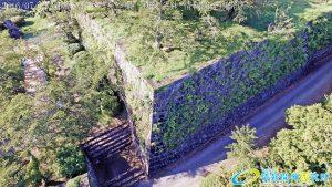 天空の豊後竹田「岡城」ドローン空撮4K写真 20160714 vol.1Aerial in drone the Oka castle/Okajou 4K Photo