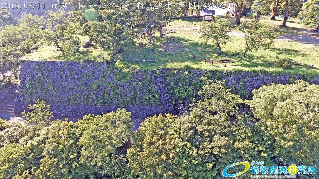 天空の豊後竹田「岡城」ドローン空撮4K写真 20160715 vol.5 Aerial in drone the Oka castle/Okajou 4K Photo