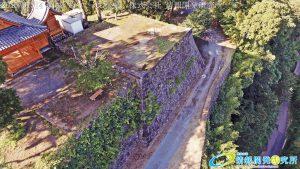 天空の豊後竹田「岡城」ドローン空撮4K写真 20160715 vol.6Aerial in drone the Oka castle/Okajou 4K Photo