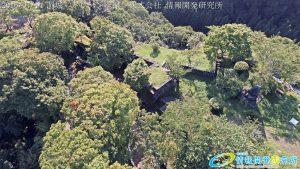 天空の豊後竹田「岡城」ドローン空撮4K写真 20160714 vol.7 Aerial in drone the Oka castle/Okajou 4K Photo