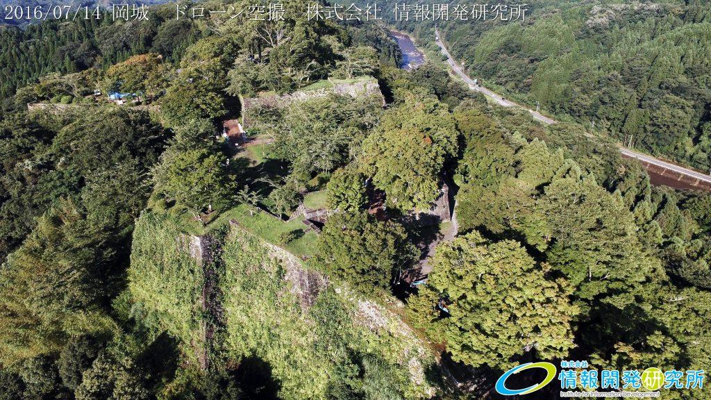 天空の豊後竹田「岡城」ドローン空撮4K写真 20160715 vol.9 Aerial in drone the Oka castle/Okajou 4K Photo