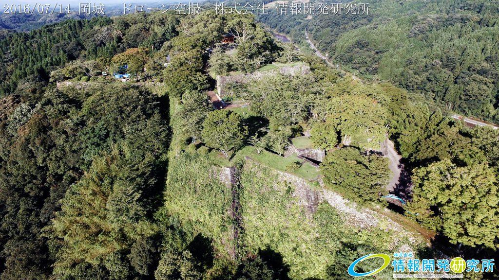 天空の豊後竹田「岡城」ドローン空撮4K写真 20160715 vol.10 Aerial in drone the Oka castle/Okajou 4K Phot