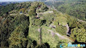 天空の豊後竹田「岡城」ドローン空撮4K写真 20160714 vol.10 Aerial in drone the Oka castle/Okajou 4K Phot