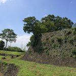 西の丸御殿下の見事な石垣、別角度から