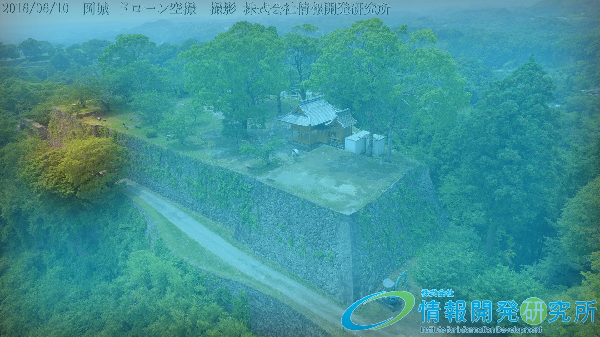 岡城本丸の石垣① 「整層乱積」seisou