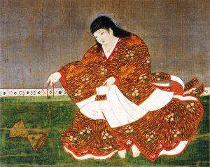 安徳天皇画像 泉涌寺所蔵