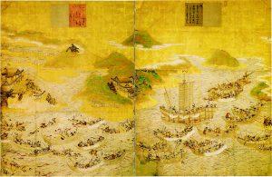 山口県下関市・赤間神宮所蔵。重要文化財。安徳天皇縁起絵
