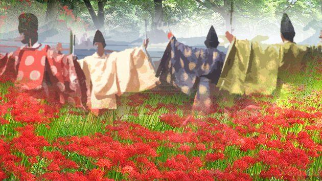 城原神楽保存会、七ツ森彼岸花祭り