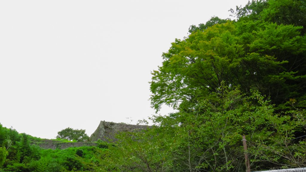 惣役所(総役所)からの西の丸