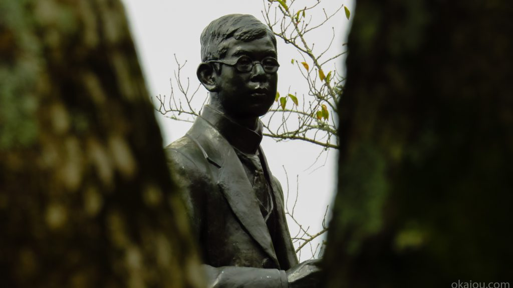 楽聖瀧廉太郎の像