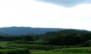 山野城遠景