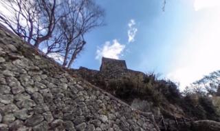 岡城 大手門 日本の 城 バーチャルリアリティ