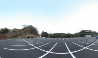 岡城駐車場 惣役所跡