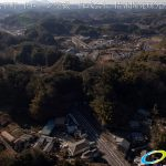 竹田城下町 ドローン空撮 4K 写真 20170126 vol.5 Aerial in drone the taketa castle town 4K Photography