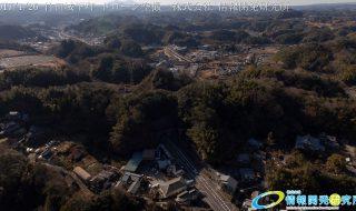 竹田城下町 ドローン空撮 4K 写真 20170126 vol.5 Aerial in drone the taketa castle town 4K Photography