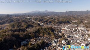 竹田城下町 ドローン空撮 4K 写真 20170126 vol.7 Aerial in drone the taketa castle town 4K Photography