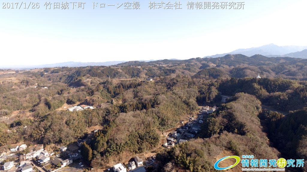 竹田城下町 ドローン空撮 4K 写真 20170126 vol.8 Aerial in drone the taketa castle town 4K Photography