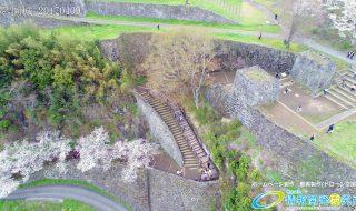 岡城跡 大手門 桜の写真 Vol.6