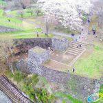 岡城跡 大手門 桜の写真 Vol.9
