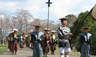 2017年岡城桜まつり 大名行列